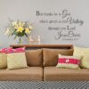 Christian Wall Decal KJV Inspirational Scripture Quotes Vinyl Lettering Stickers