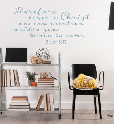 2 Corinthians 5:17 Wall Decal