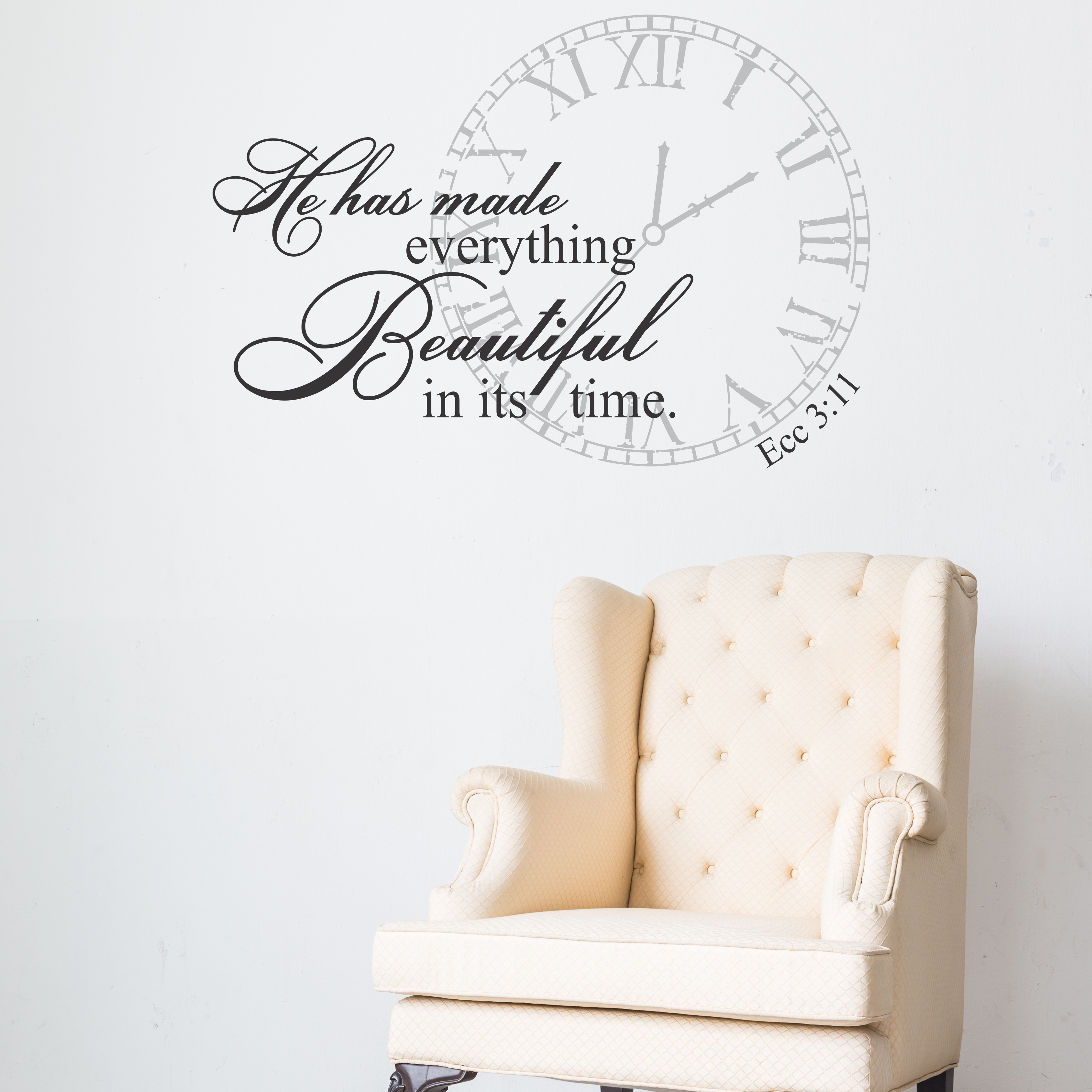 2 You Are Beautiful Metallic Silver Stickers Decals Two