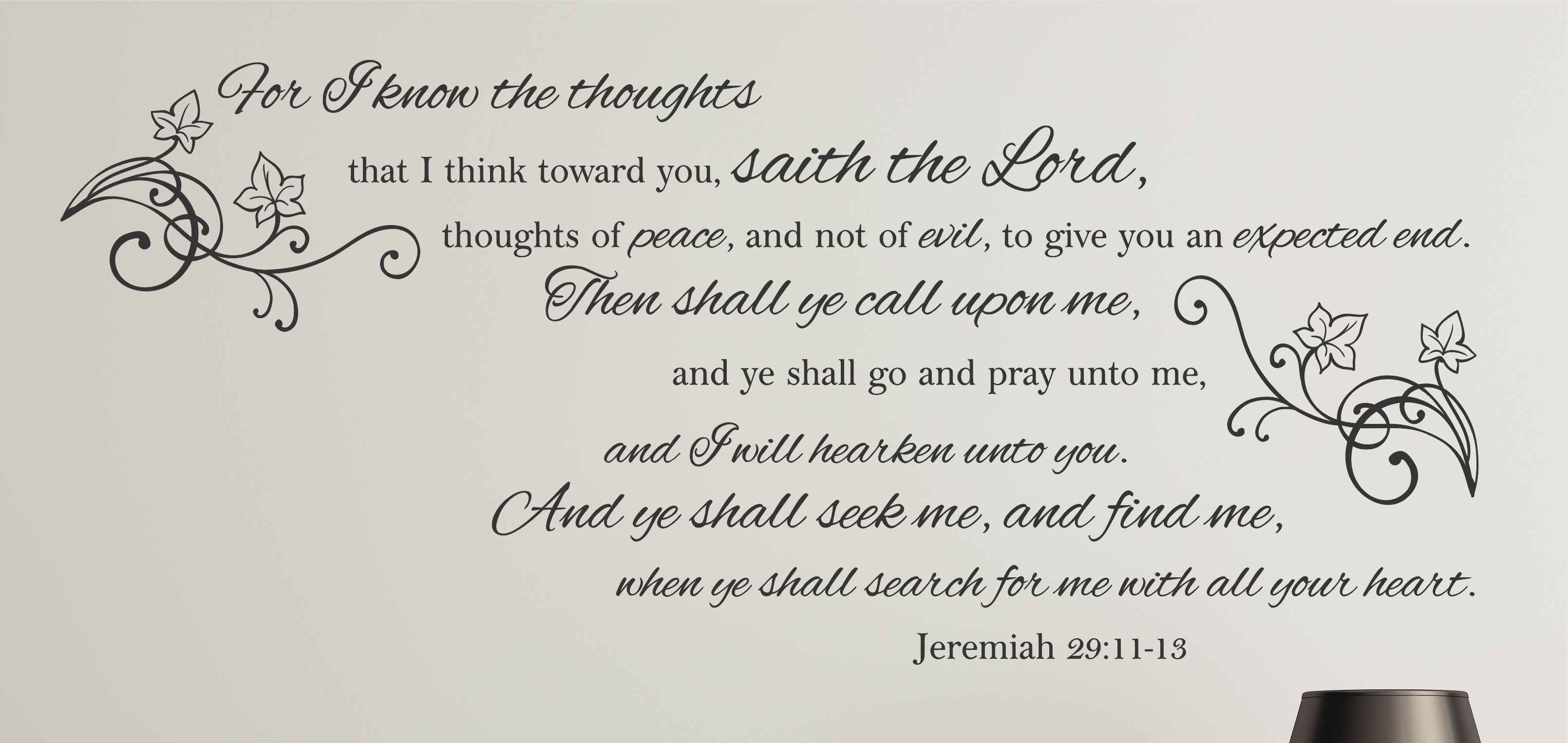jeremiah 29 11 king james