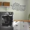 Know When to Fold It Laundry Room Decal