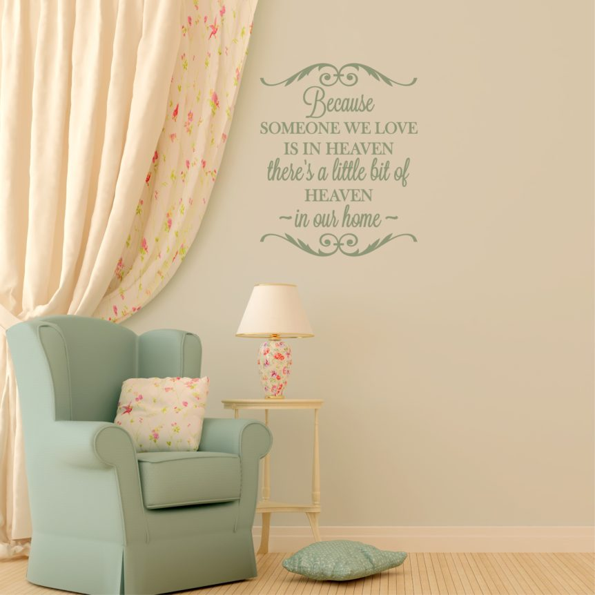 Wall Decal For Grieving Family
