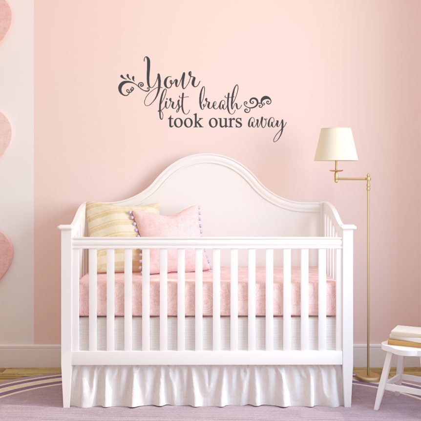 Christian Wall Quotes and Bible Verse Decals For Home and Church Family Love Nursery Wall Decor