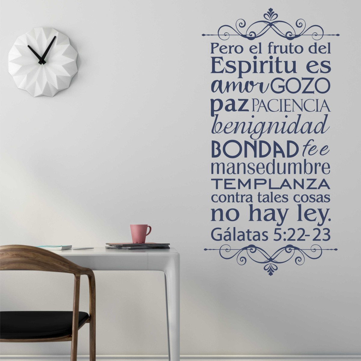Fruit Of The Spirit Wall Decal Decorate With Scripture Verses