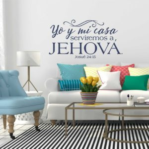Spanish Scripture Decals