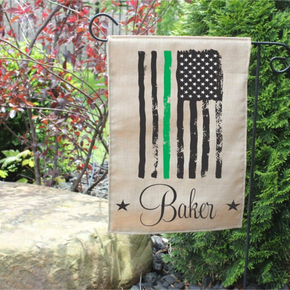 Personalized Armed Forces Garden Flag.1
