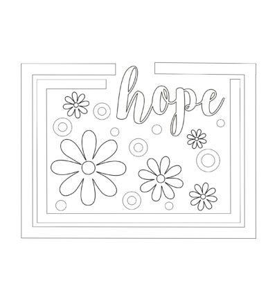 Covid-19 Support ♥ Free Coloring Pages
