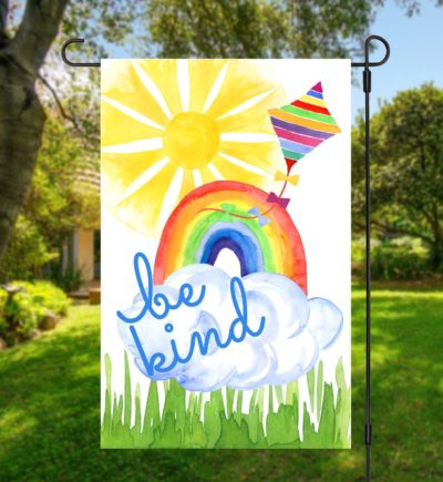 Be Kind Rainbow Flag