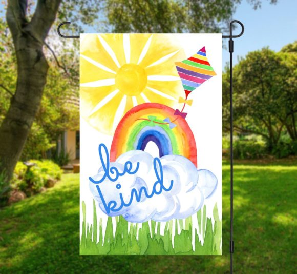 Be Kind Rainbow Flag