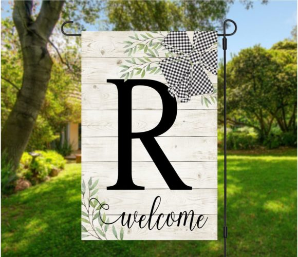 Farmhouse Welcome Garden Flag