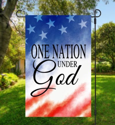 One Nation Under God Garden Flag