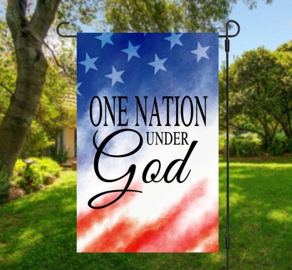 One Nation Under God Garden Flag