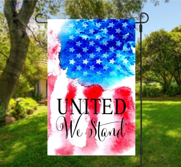United We Stand Garden Flag