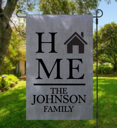 Personalized Home Garden Flag