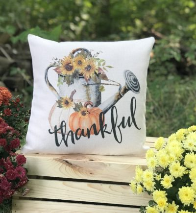 Thankful Fall Pillow