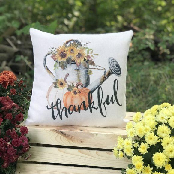 Thankful Fall Pillow