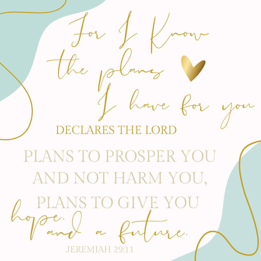 For I Know The Plans I Have For You - Jeremiah 29:11 by A Great Impression